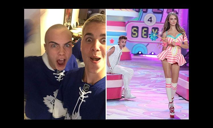 Cara Delevingne dằn mặt Justin Bieber