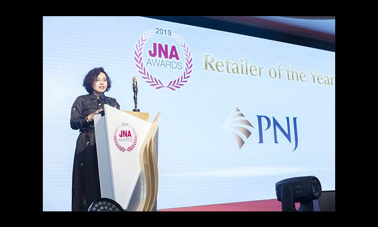 """PNJ được vinh danh giải thưởng """"Nhà bán lẻ số 1 Ngành Kim Hoàn Châu Á – Retail of the year 2019"""""""