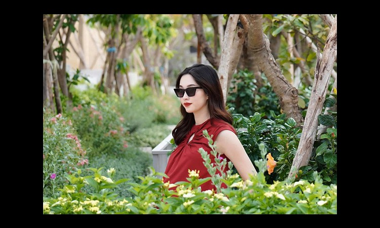 Hoa hậu Đặng Thu Thảo sinh con trai
