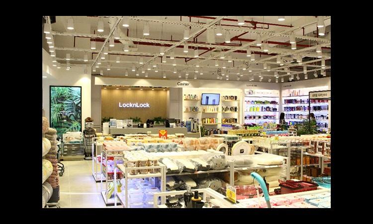 Lock&Lock mở cửa trở lại các cửa hàng, thay đổi diện mạo mới cửa hàng tại Crescent Mall