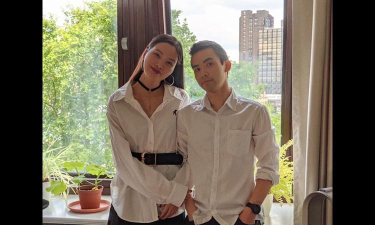 Á quân Next Top Model Chà Mi công khai bạn trai ngoại quốc