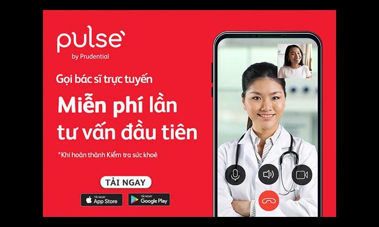 Ứng dụng Pulse by Prudential ra mắt tính năng bác sĩ trực tuyến miễn phí kiểm tra sức khỏe mùa dịch