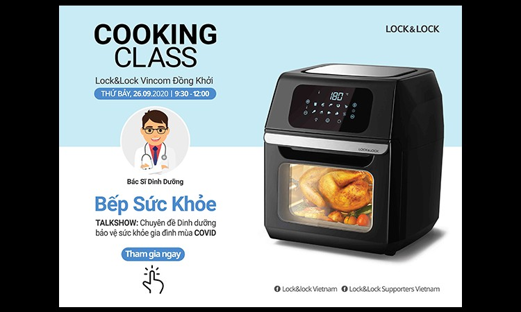 Lock&Lock Việt Nam tổ chức Demo Cooking Class – Chuỗi workshop miễn phí chia sẻ các bí quyết trong cuộc sống giúp việc nội trợ trở nên dễ dàng