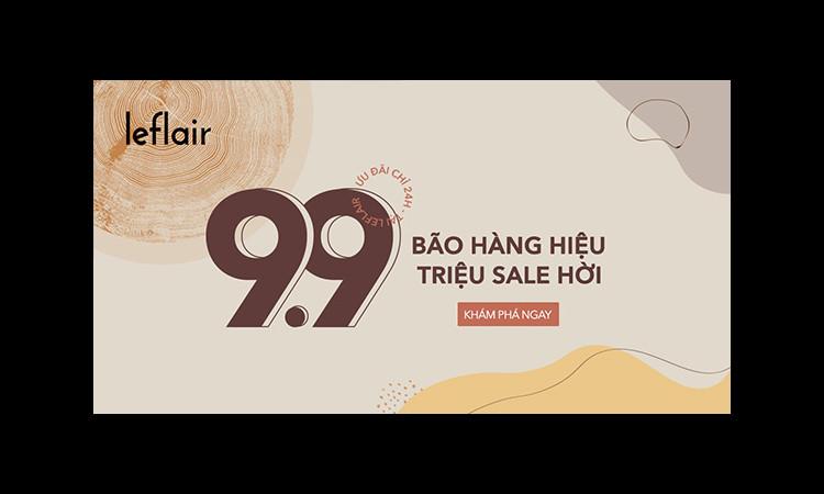 99 thương hiệu cao cấp trên Leflair.vn tung khuyến mãi khủng dịp ngày trùng 9/9