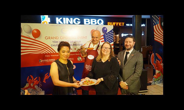Thưởng thức món tôm hùm nổi tiếng Mỹ tại hệ thống nhà hàng King BBQ, Tasaki BBQ, Meiwei