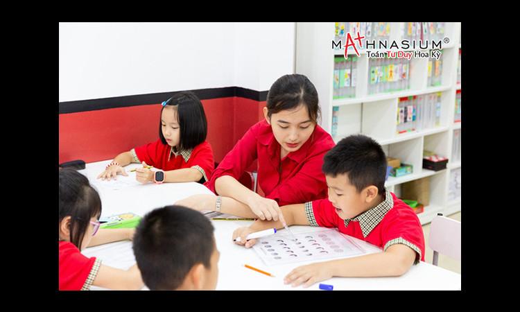 Phương pháp dạy bé học toán của Hệ thống trung tâm Toán Tư Duy Mathnasium