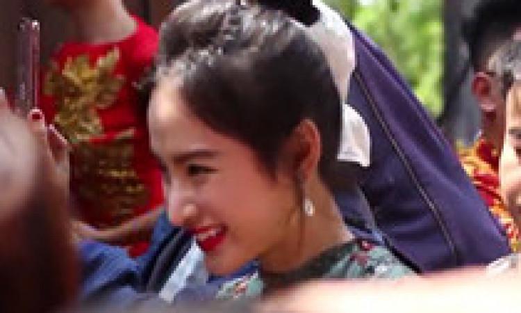 Angela Phương Trinh, Nam Thư và dàn sao Việt rộn ràng đi giỗ Tổ