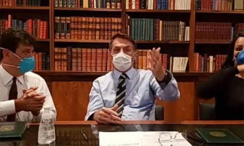 NÓNG: Tổng thống Brazil dương tính với Covid-19