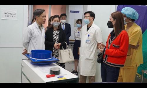 Chi Pu tặng phòng cách ly trị giá 650 triệu đồng chống dịch