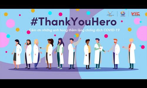 TikTok phát động Chiến dịch #ThankYouHero, kêu gọi cộng đồng gửi lời tri ân đến đội ngũ y tế đang chiến đấu chống COVID-19 tại Việt Nam