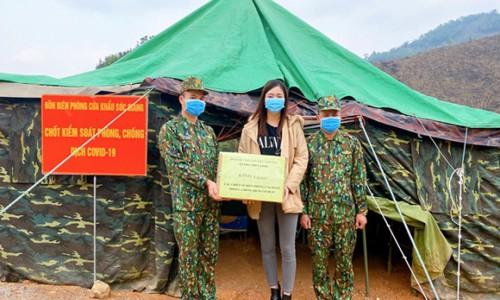 Hoa hậu Lương Thùy Linh: 'Tôi thương bộ đội biên phòng vô cùng'