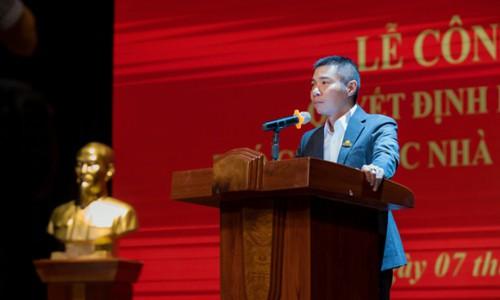 Công Lý được bổ nhiệm làm Phó giám đốc Nhà hát kịch Hà Nội