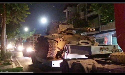 Hoàn tất di dời xe tăng, máy bay, pháo… ra khỏi kinh thành Huế