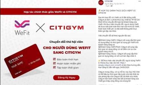 Hợp tác Citigym và Wefit: Sự tử tế trong lúc khó khăn luôn là điều vô giá