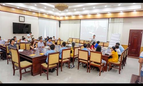 Tổng công ty Tân cảng Sài Gòn hợp tác cùng Học viện Doanh nhân MVV triển khai đào tạo hỗn hợp cho cán bộ nguồn
