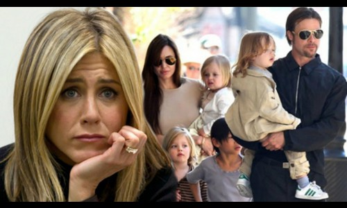 Jennifer Aniston buồn vì Brad Pitt làm lành với Angelina Jolie