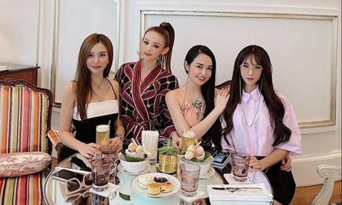 Dàn hot girl Hà Thành chơi thân hơn 10 năm hội ngộ