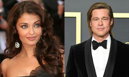 Hoa hậu Aishwarya Rai từng từ chối đóng cảnh nóng với Brad Pitt