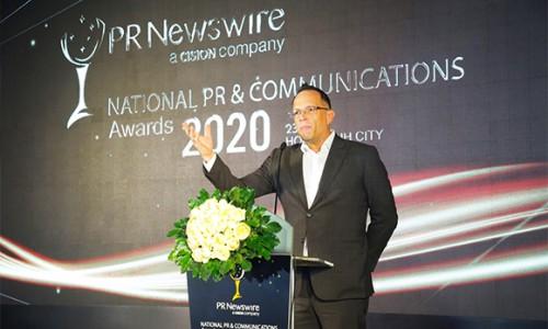 """PNJ nhận giải thưởng """"Chiến dịch truyền thông toàn cầu xuất sắc nhất"""""""