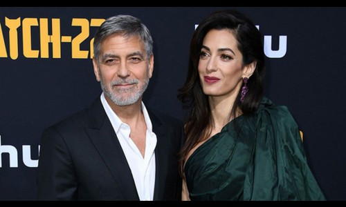 Vợ chồng tài tử George Clooney ủng hộ 100.000 USD cho Beirut
