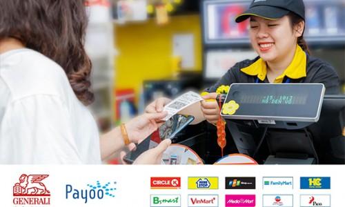 Generali nâng cao trải nghiệm thanh toán phí cho khách hàng qua ngân hàng số Vietcombank và hơn 7.000 cửa hàng, siêu thị trên toàn quốc
