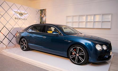 Ấn tượng với phiên bản thể thao của dòng sedan siêu sang Bentley Flying Spur V8 S