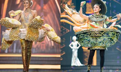 Trang phục bánh mì của H'Hen Niê bị nghi mượn ý tưởng từ Thái Lan
