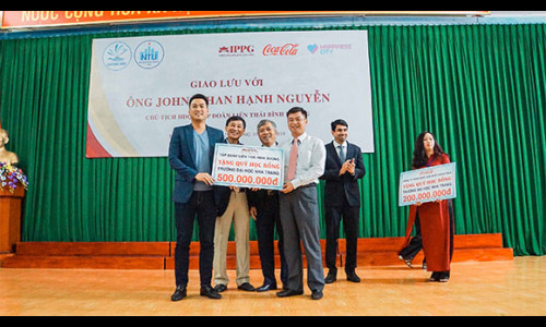 IPPG nỗ lực chung tay cùng Nha Trang phát triển dự án Happiness City