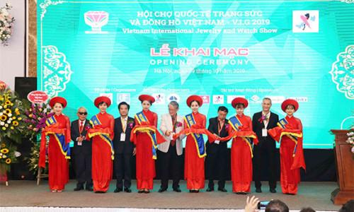 Chính thức diễn ra Hội chợ Quốc tế Trang sức và Đồng hồ Việt Nam V.I.G 2019