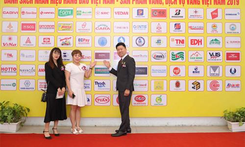 """Tập đoàn Liên Thái Bình Dương - IPPG được vinh danh """"Top 50 nhãn hiệu hàng đầu Việt Nam năm 2019"""""""
