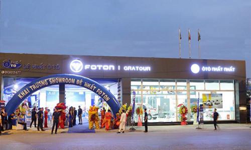 Foton Motors chính thức khai trương showroom đầu tiên tại TP.HCM