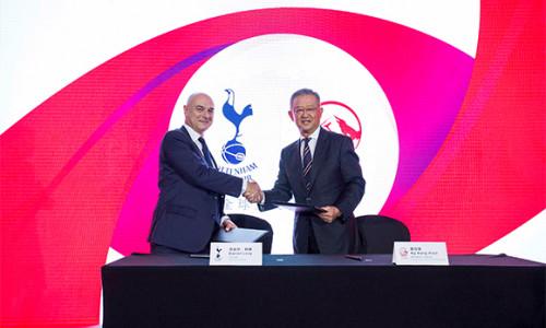AIA và Câu lạc bộ Tottenham Hotspur ký kết hợp tác chiến lược đến năm 2027