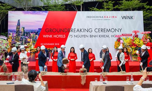 Chính thức khởi công xây dựng khách sạn Wínk tại TP.HCM