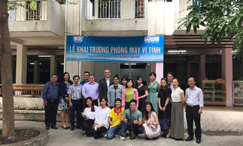 Savills Việt Nam mở rộng hoạt động cộng đồng trong lĩnh vực giáo dục và đào tạo