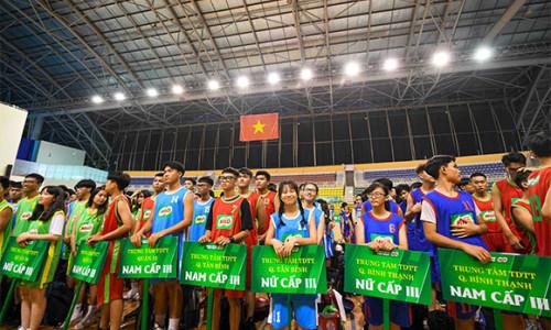 91 đội bóng tranh tài tại vòng chung kết Giải bóng rổ Hội Khỏe Phù Đổng TPHCM – Cúp Nestlé Milo năm học 2019-2020