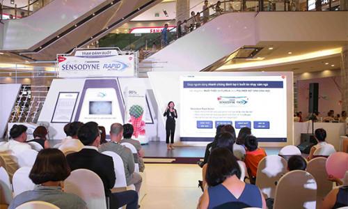 Chính thức ra mắt sản phẩm giảm nhanh ê buốt răng Sensodyne Rapid Action tại Việt Nam