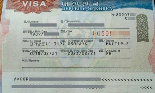 Hàn Quốc dừng cấp visa 5 năm cho người Việt không có hộ khẩu 3 thành phố lớn