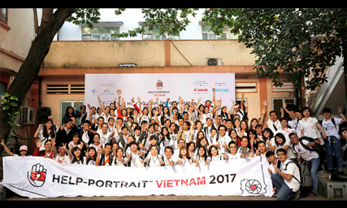 1.000 bạn trẻ sẽ tham gia sự kiện Help-Portrait Việt Nam lần thứ 9