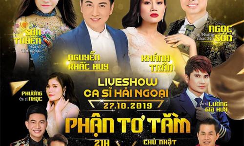 Kỷ niệm 10 năm ca hát, Nguyễn Khắc Huy và Khánh Trân tổ chức liveshow