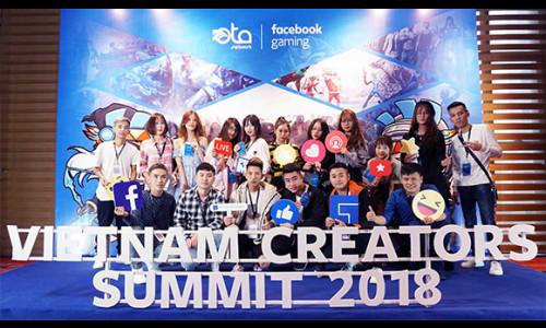 Vietnam Creators Summit 2018 - Sự kiện chuyên nghiệp đầu tiên và lớn nhất dành cho streamer Việt Nam trên nền tảng facebook