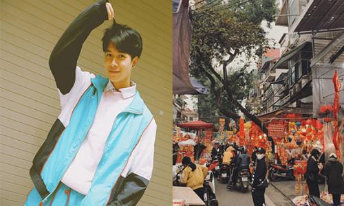 Diệu Nhi ở Hà Nội, đón Tết bên gia đình Anh Tú?