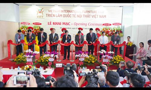 Khai mạc Triển lãm nội thất quốc tế Việt Nam – VIFF 2019
