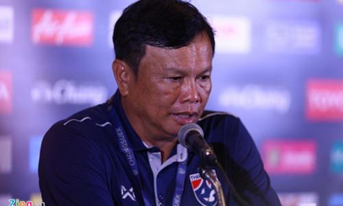 HLV Thái Lan: 'Chúng tôi chơi hay hơn nhưng bóng đá là vậy'