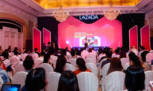 Hơn 1 triệu mặt hàng giảm giá đến 90% trong 24 giờ tại đại tiệc mua sắm 11.11 của Lazada