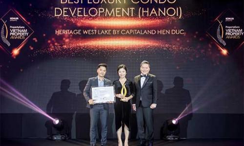 CapitaLand Việt Nam vinh dự nhận nhiều giải thưởng Bất động sản Việt Nam 2019