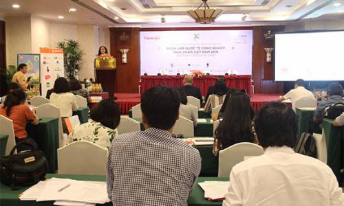 TPHCM sắp diễn ra triển lãm quốc tế công nghiệp thực phẩm Việt Nam 2018