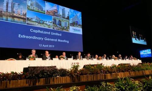 CapitaLand hoàn tất sáp nhập Ascendas-Singbridge trở thành một trong những tập đoàn bất động sản đa ngành lớn nhất Châu Á