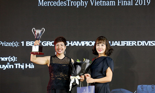 Nữ Golfer duy nhất tham dự chung kết MercedesTrophy Châu Á 2019