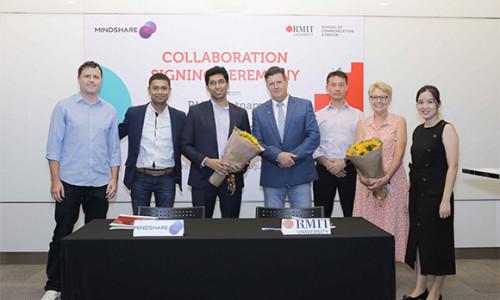 """RMIT """"bắt tay"""" Mindshare Việt Nam nâng cao trải nghiệm học cho sinh viên ngành sáng tạo"""