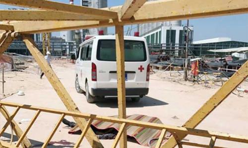 Bình Dương: Sập cẩu tháp công trình, 3 công nhân thiệt mạng ở KCN Bàu Bàng